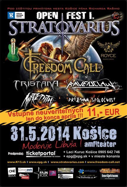 picture Stratovarius + Freedom Call - Open Fest I.