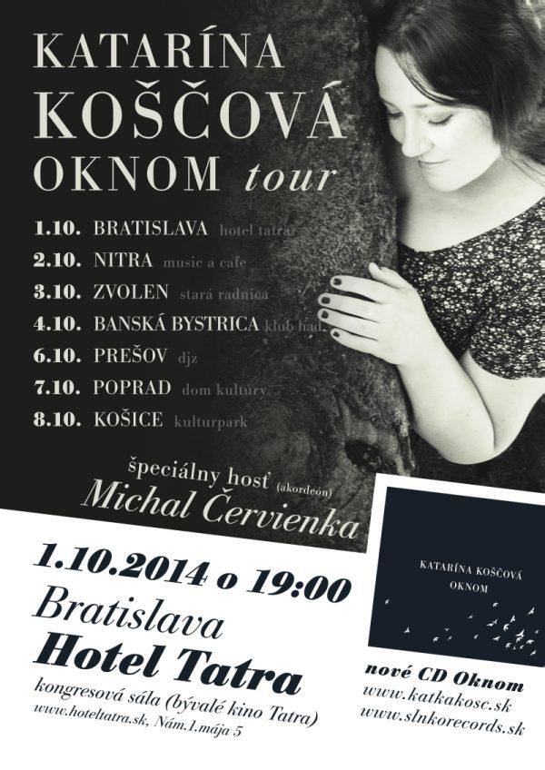 picture Katarína Koščová - OKNOM tour