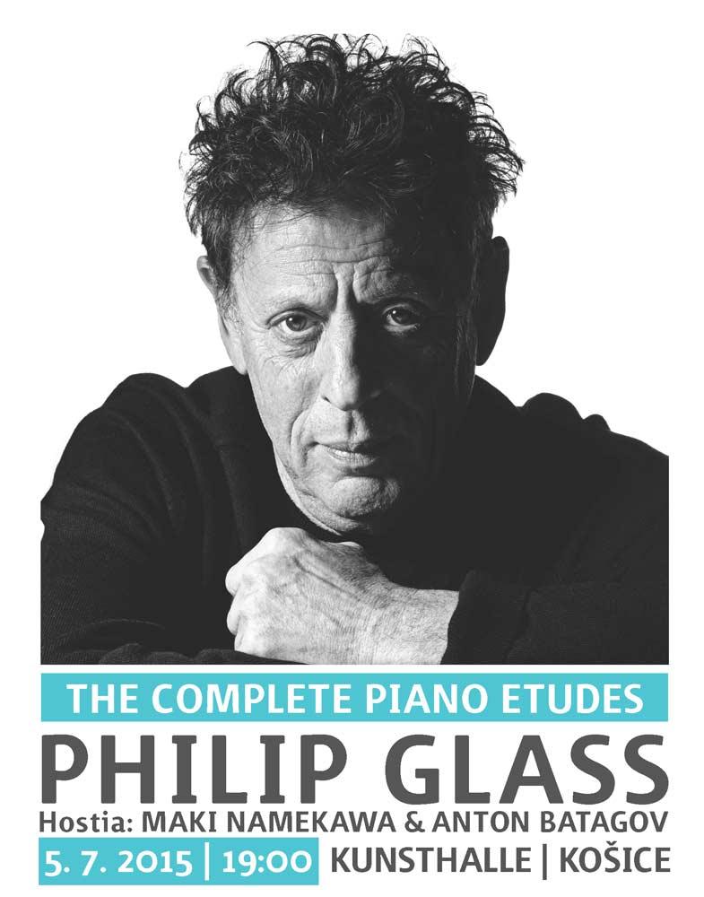 picture PHILIP GLASS: THE COMPLETE PIANO ETUDES KOŠICE