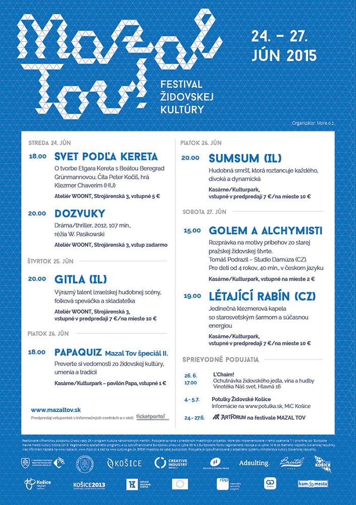 picture Festival židovskej kultúry Mazal tov 2015