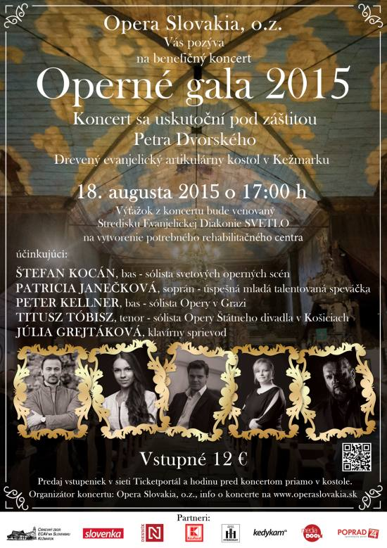 picture Operné gala 2015 - benefičný koncert