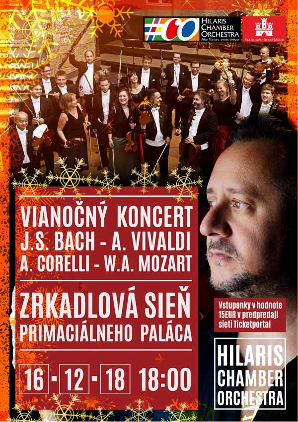 picture VIANOČNÝ KONCERT HILARIS CHAMBER ORCHESTRA