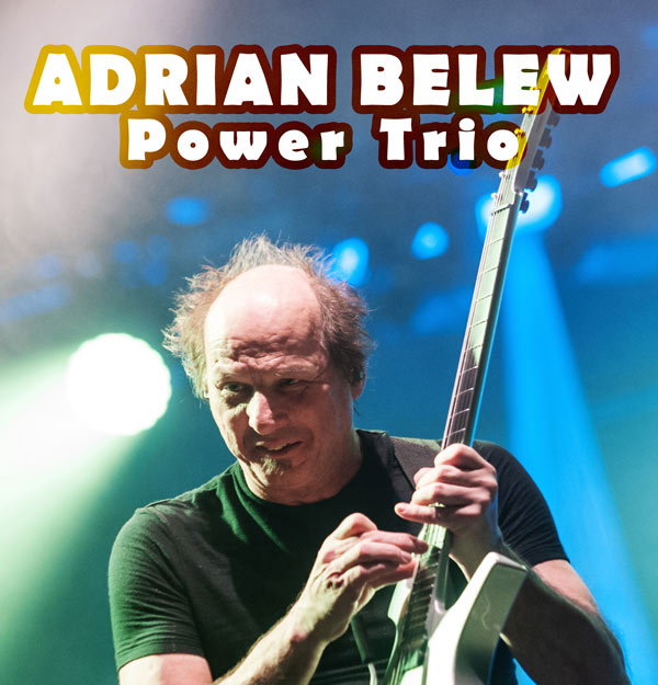 picture Adrian Belew Power Trio (USA) + LizZard (FR)