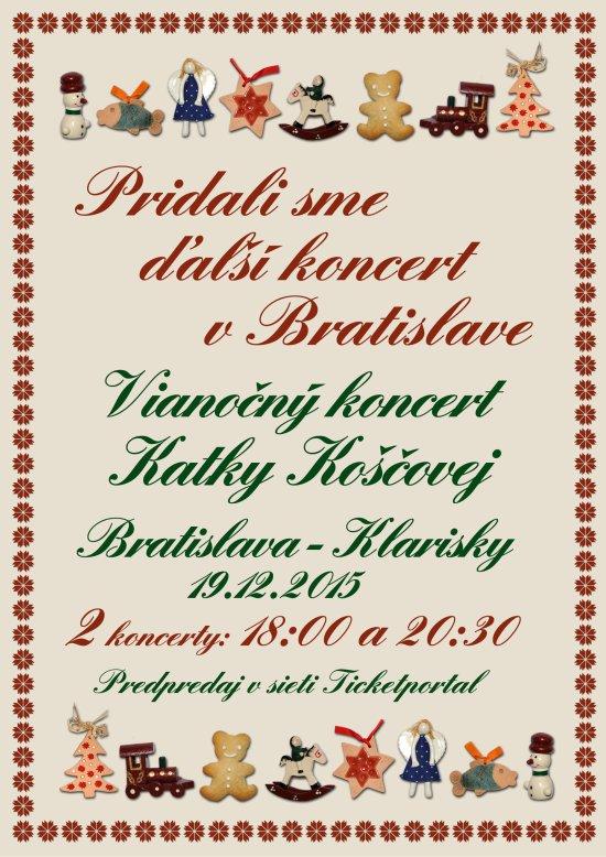 picture Katka Koščová - Vianočný koncert