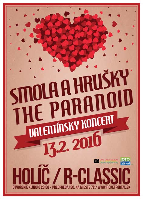picture Smola a Hrušky & The Paranoid / VALENTIN PARTY