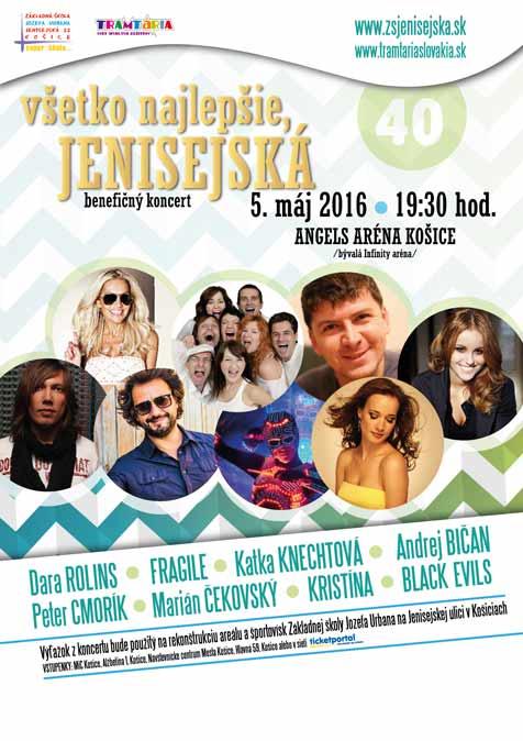 picture Jenisejská * benefičný koncert