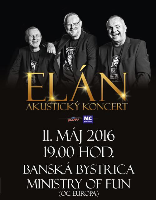 picture ELÁN - akustický koncert
