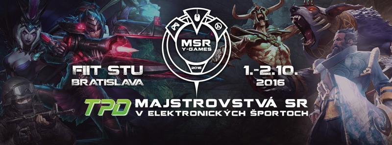 picture TPD Majstrovstvá SR v elektronických športoch 2016