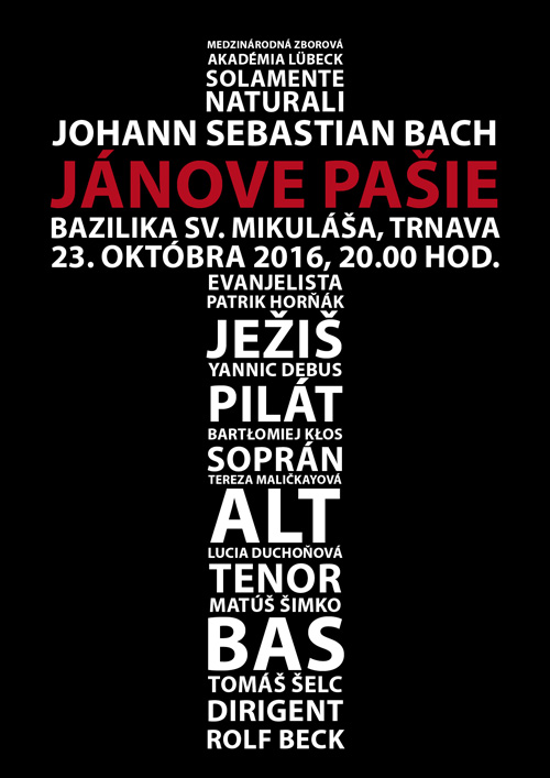 picture Johann Sebastian Bach - Jánove pašie BWV245