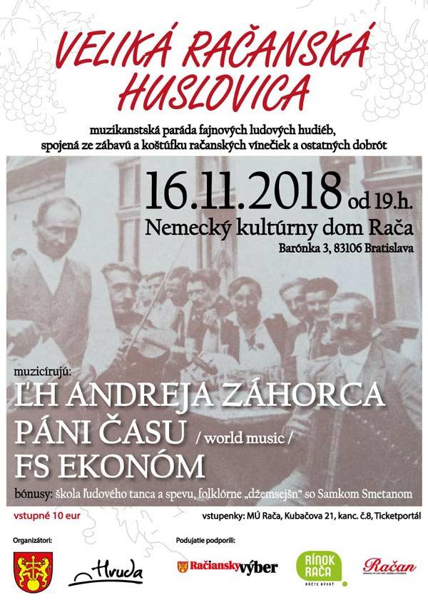 picture VELIKÁ RAČANSKÁ HUSLOVICA