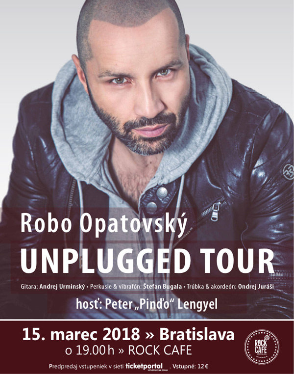 picture ROBO OPATOVSKÝ UNPLUGGED TOUR