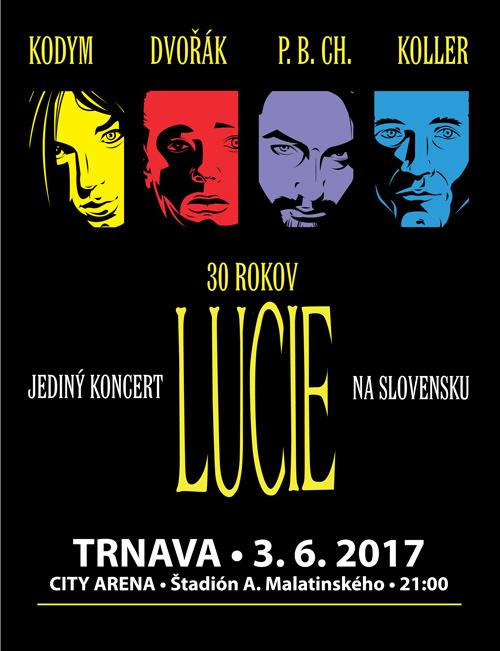 picture LUCIE - JEDINÝ KONCERT NA SLOVENSKU V ROKU 2017