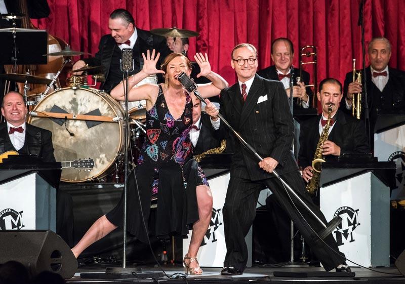 picture MAGDALENA KOŽENÁ & O. Havelka a jeho Melody Makers