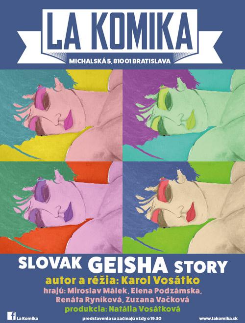 picture SLOVAK GEISHA STORY
