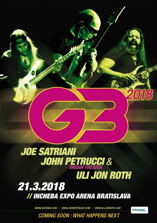 picture G3 – Joe Satriani, John Petrucci, Uli Jon Roth