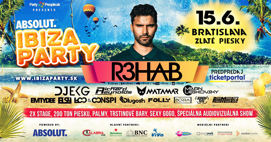 picture IBIZA PARTY 2018 open air, R3HAB, EKG, MAIREE