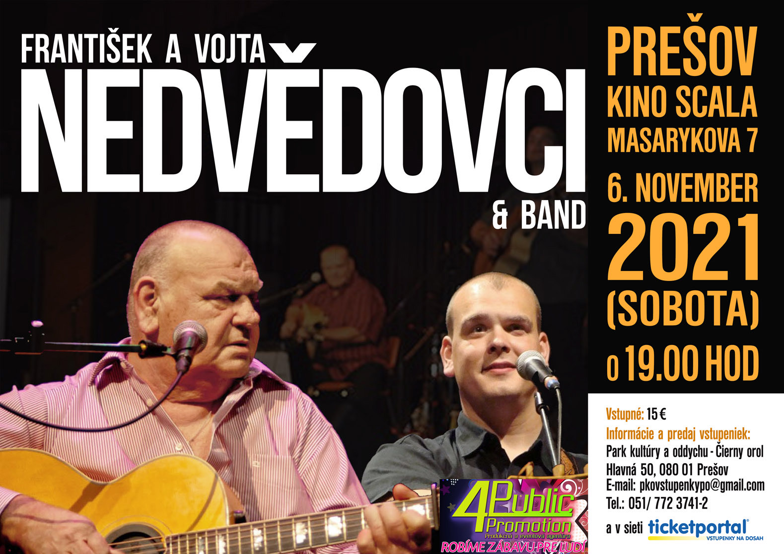 picture František a Vojta Nedvědovci & band