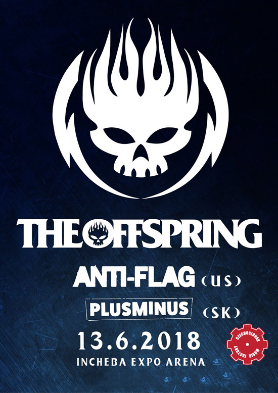picture THE OFFSPRING v Bratislave