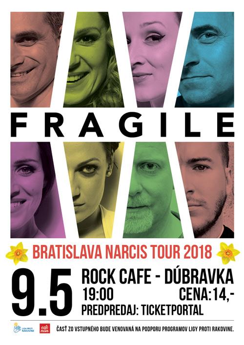 picture Fragile - Bratislava Narcis Tour 2018