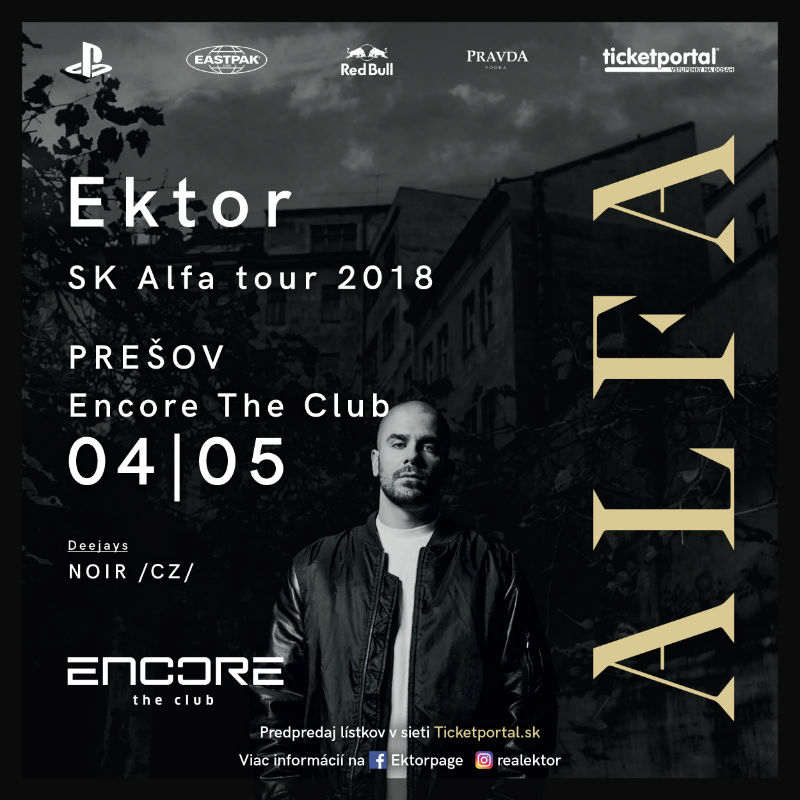 picture Ektor Alfa SK tour 2018 – Encore  the club
