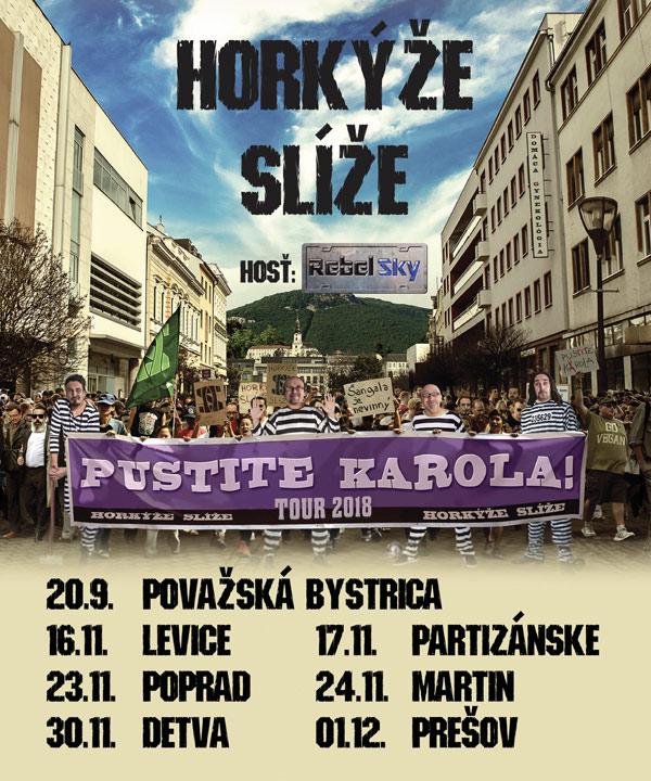 picture Horkýže Slíže - Pustite Karola TOUR 2018