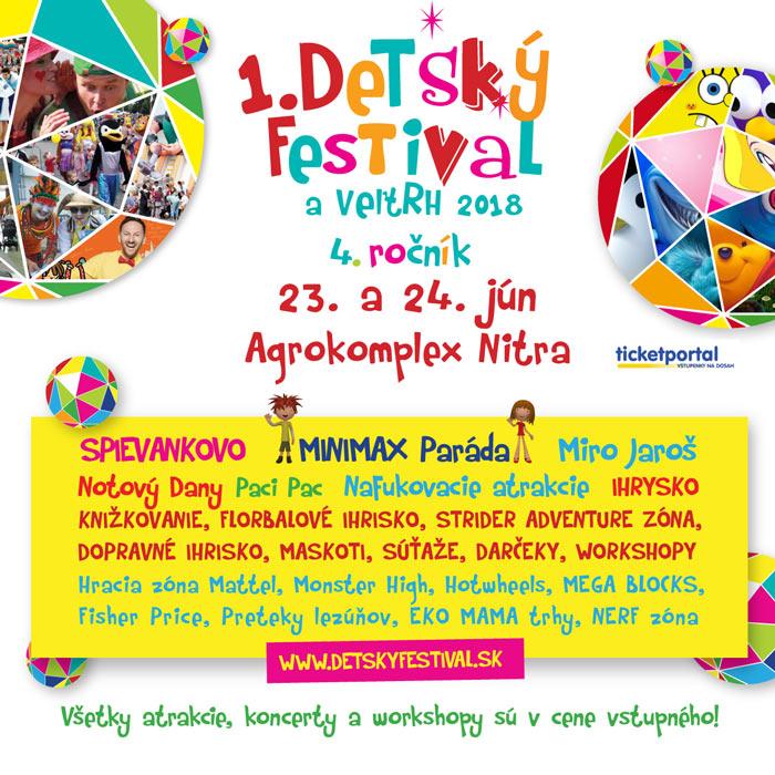 picture 1. Detský festival a veľtrh 2018, Nitra