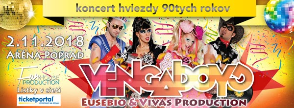 picture VENGABOYS, Eusebio & Vivas production