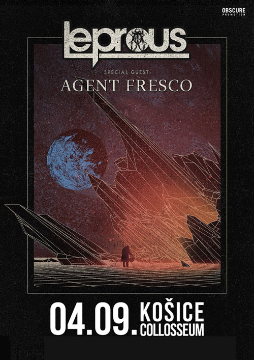picture LEPROUS (NOR) + AGENT FRESCO (IS)