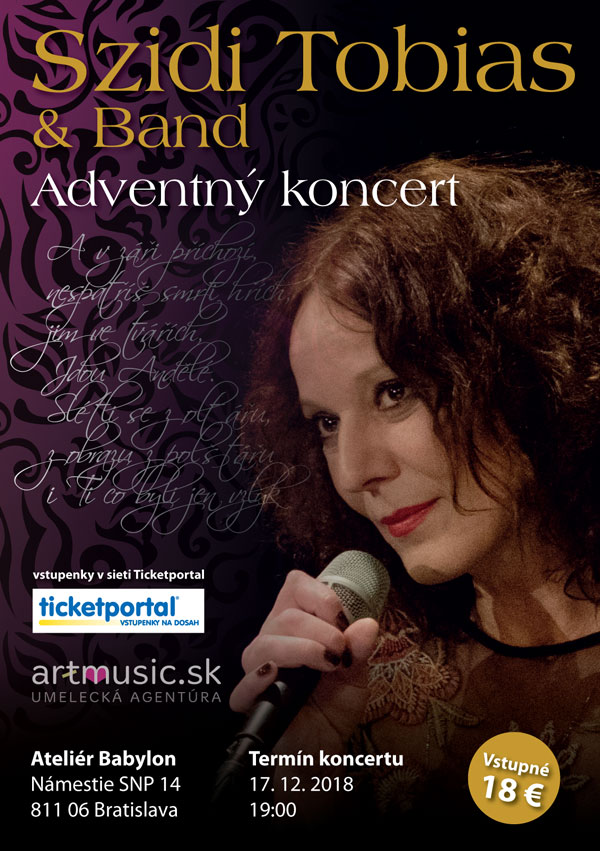 picture Szidi Tobias & Band - Adventný koncert