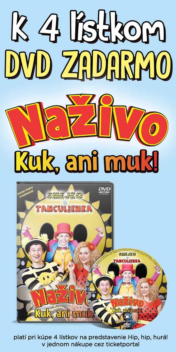 picture Smejko a Tanculienka - Hip, hip, hurá!