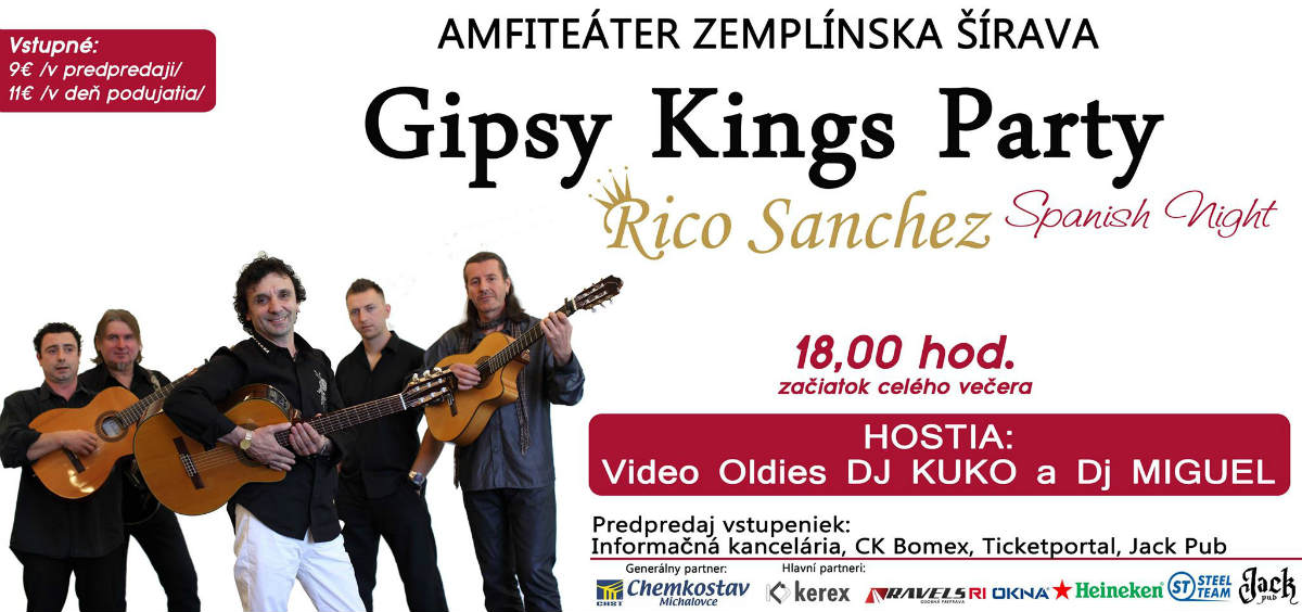 picture Rico Sanchez Gipsy Kings Party