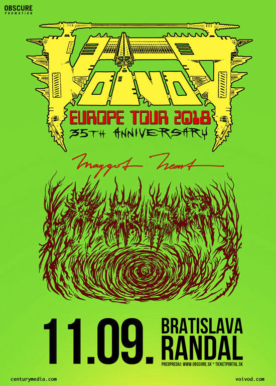 picture VOIVOD (CAN) + MAGGOT HEART (SWE)