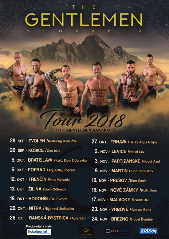 picture The Gentlemen tour 2018