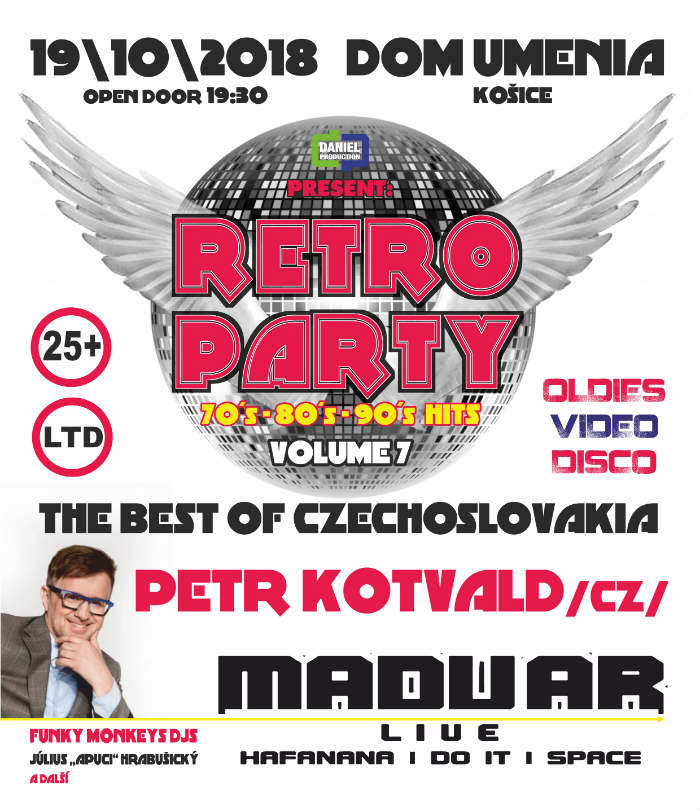 picture RETRO PARTY 2018 vol.7 - Best Of Czechoslovakia