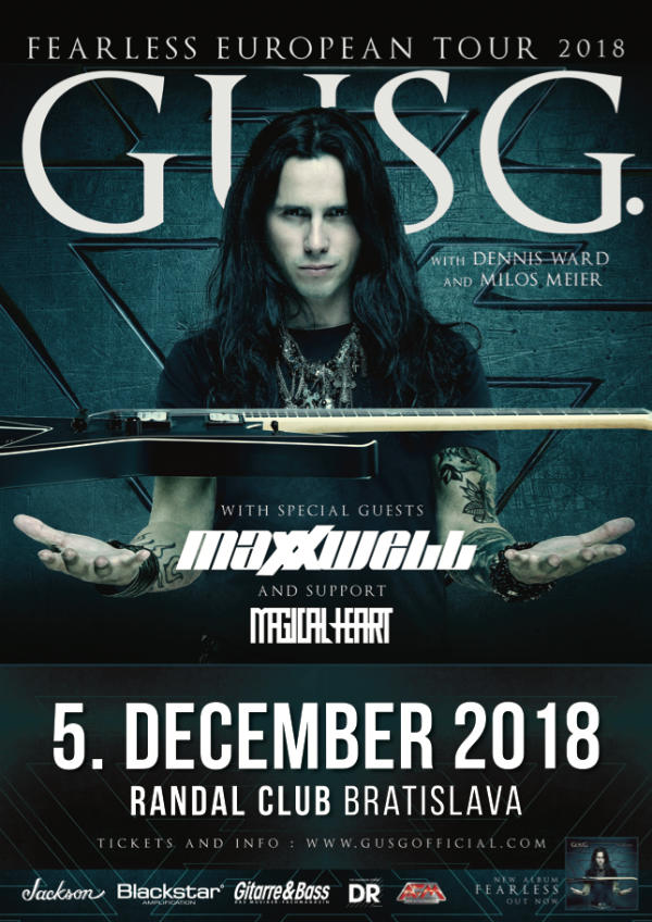 picture GUS G. + Support
