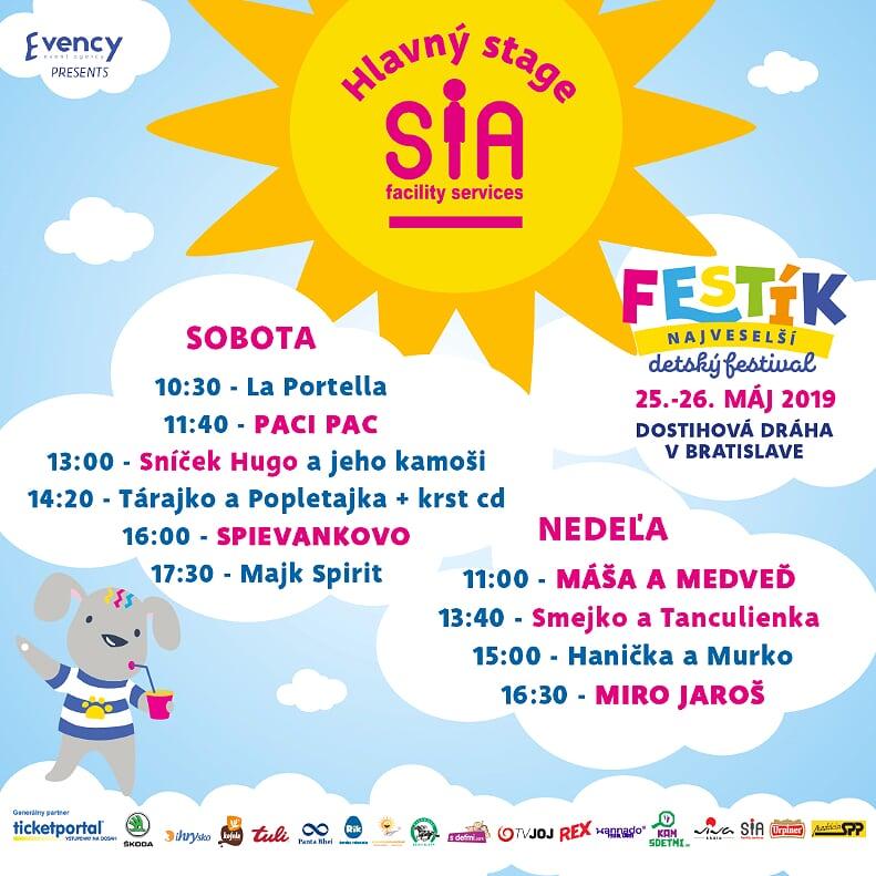 picture FESTÍK - najveselší detský festival 2019