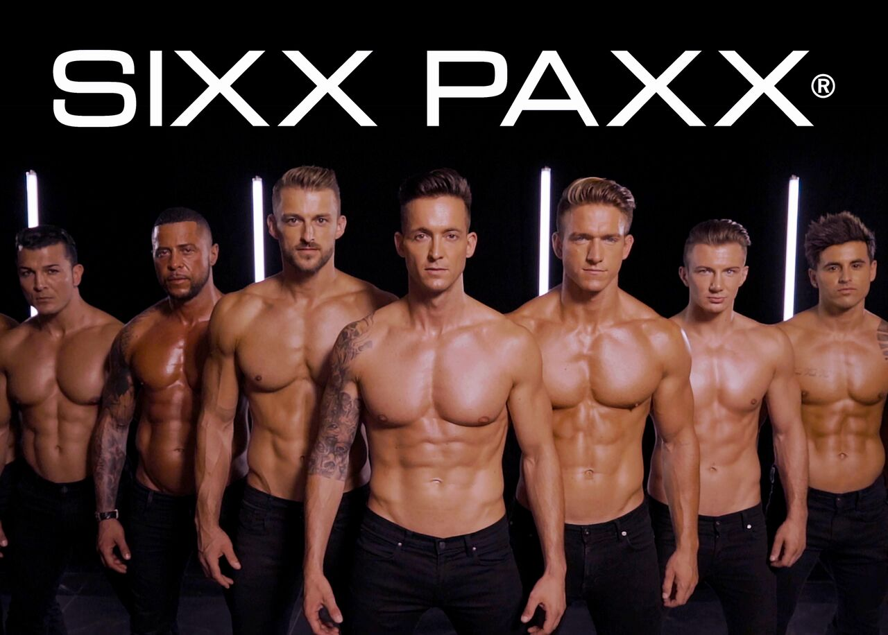 picture SIXX PAXX Menstrip Show
