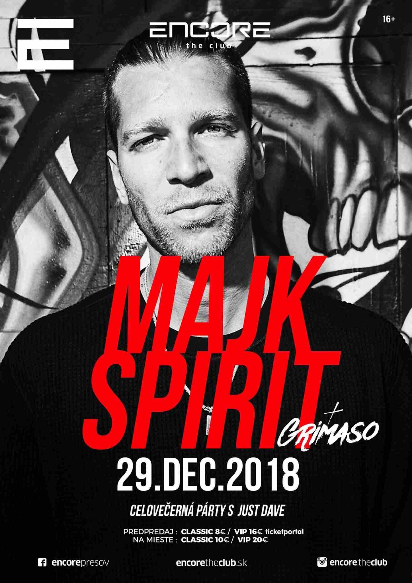 picture Majk Spirit v Encore the Club