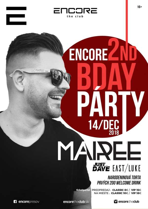 picture Mairee – Encore the club 2nd Bday párty
