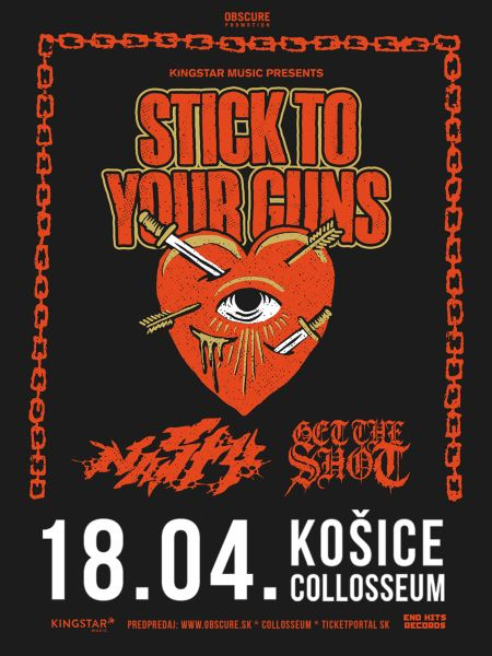 picture STICK TO YOUR GUNS / NASTY / GET THE SHOT