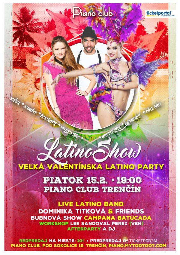 picture Latinoshow - Veľká Valentínska Latino Party