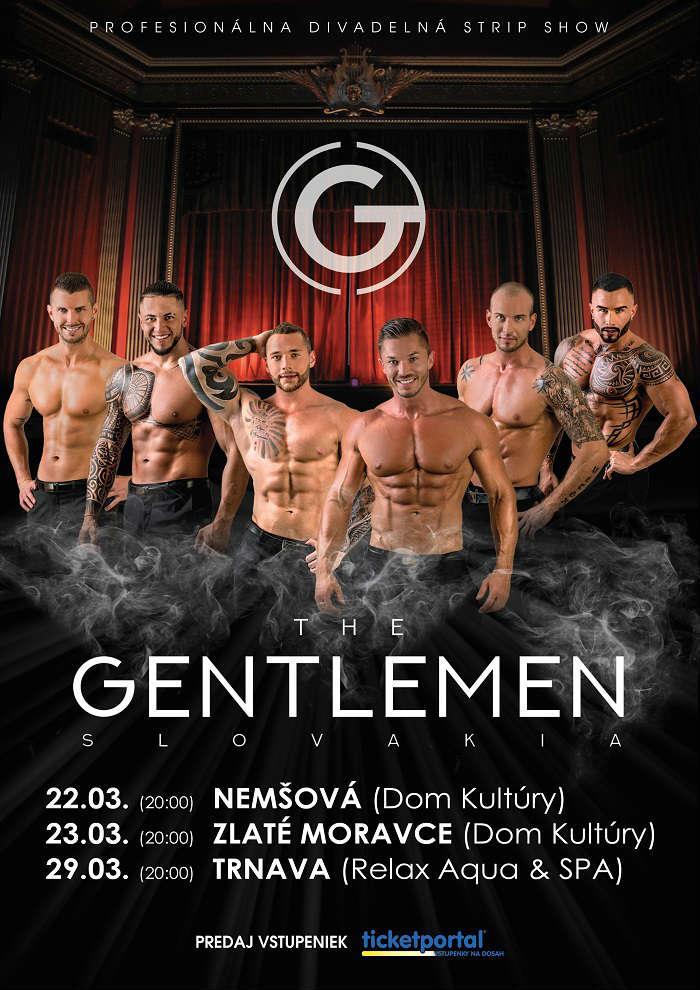 picture THE GENTLEMEN SLOVAKIA - divadelná strip show