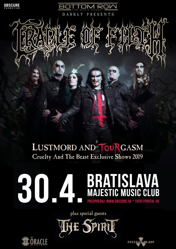 picture CRADLE OF FILTH (UK) + THE SPIRIT (GER)