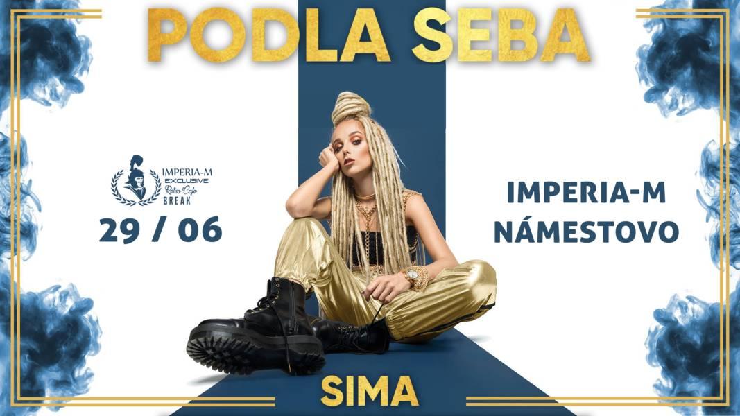 picture SIMA Podla Seba Live koncert