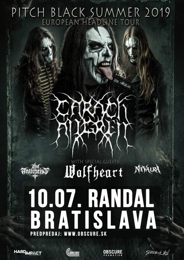 picture CARACH ANGREN +WOLFHEART+THY ANTICHRIST+NEVALRA