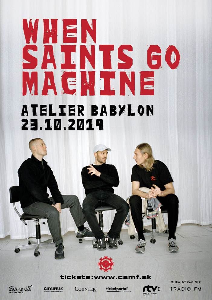 picture When Saints Go Machine