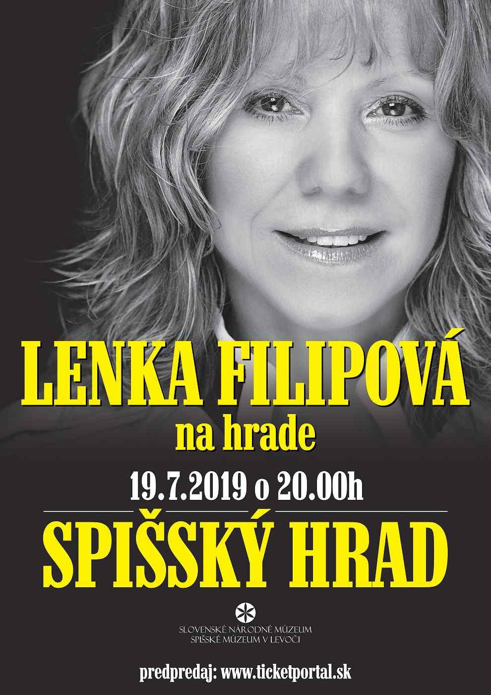 picture Lenka Filipová na HRADE
