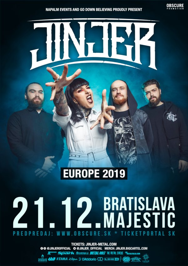 picture JINJER + supports