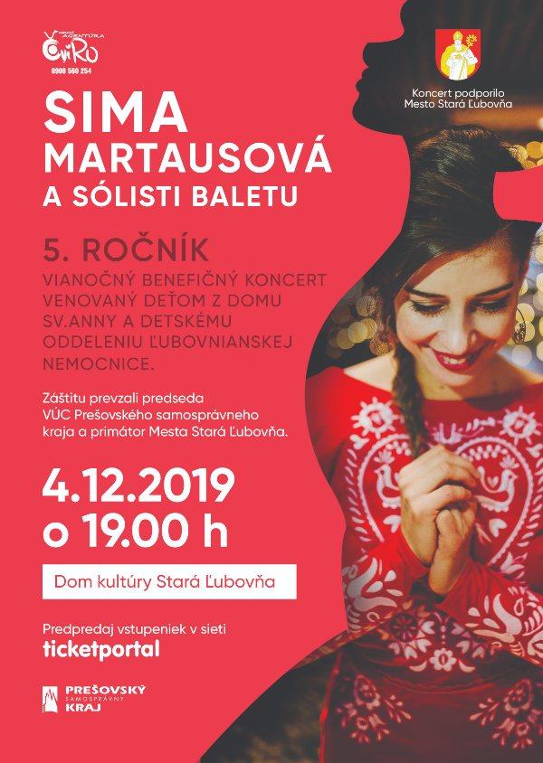 picture Vianočný Benefičný koncert - Sima Martausová