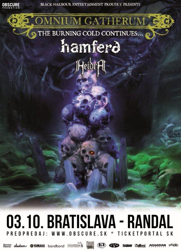 picture OMNIUM GATHERUM (FIN) + HAMFERD (FO) + HEIDRA (DK)